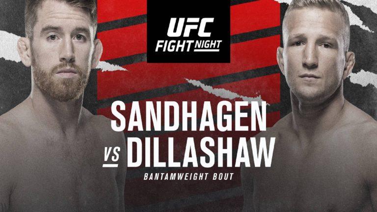 UFC Vegas 32: SANDHAGEN VS. DILLASHAW Live stream !