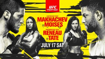 UFC FIGHT NIGHT MKHACHEV MOISES